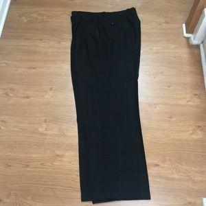 Black and White plaid Dress Pants Size 38X34